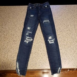 American Eagle SZ 00 short high-rise skinny Jeans